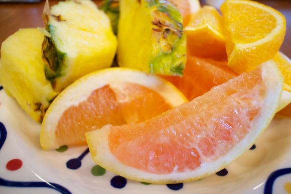 新鮮な野菜・豆類・フルーツ中心の食生活を。